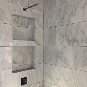 ANA Bathroom Reno Marble